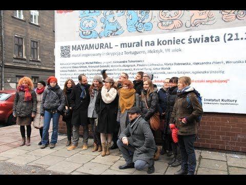 Making of Mayamural - YouTube #streetart #kraków #2012