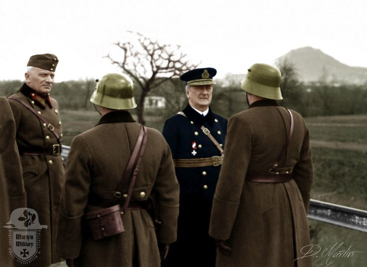 Miklós Horthy's visit to the Transcarpathian teams