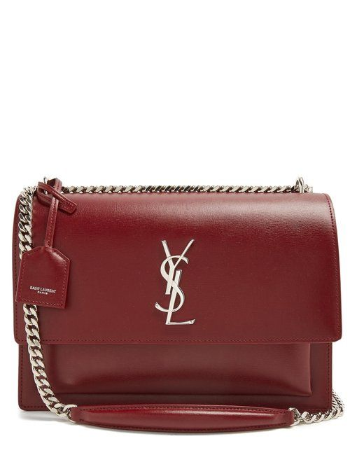Saint Laurent Sunset large leather shoulder bag