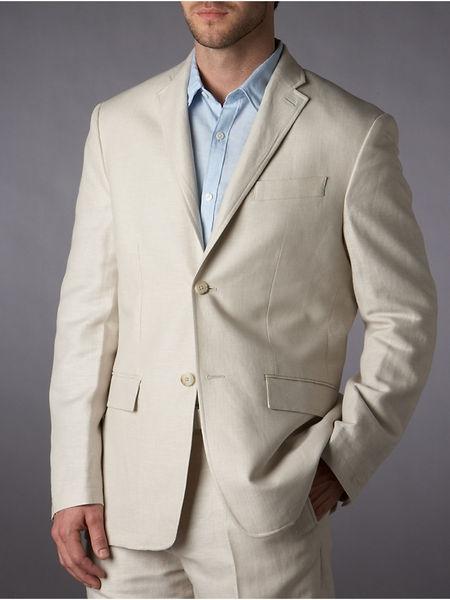 Natural Linen Classic Fit Jacket: Linen Classic, Classic Fit, Natural Linen, Cotton Classic