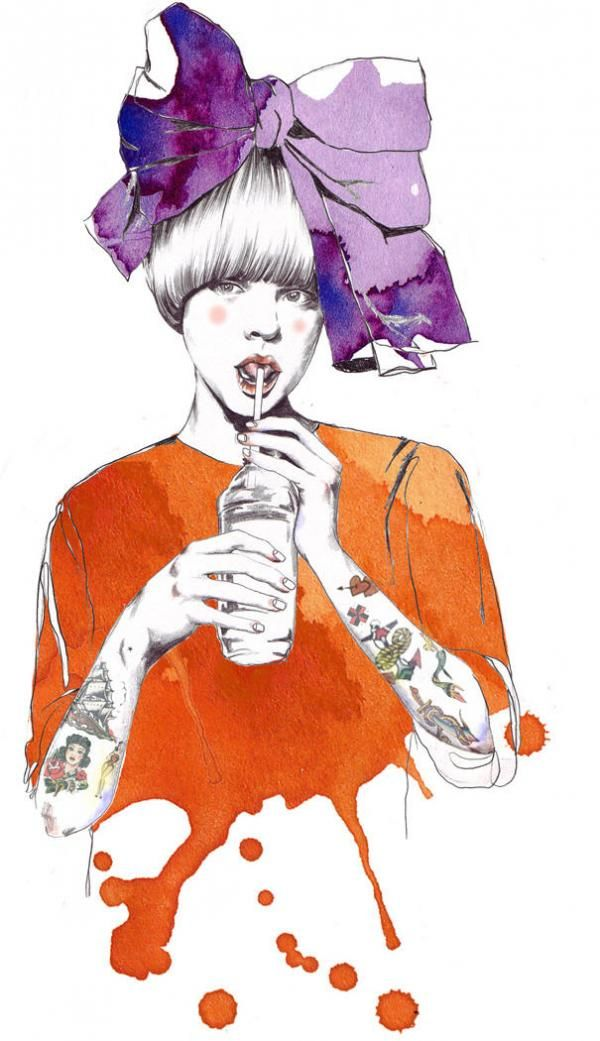 Fashion Illustrations by Esra Roise | Cuded