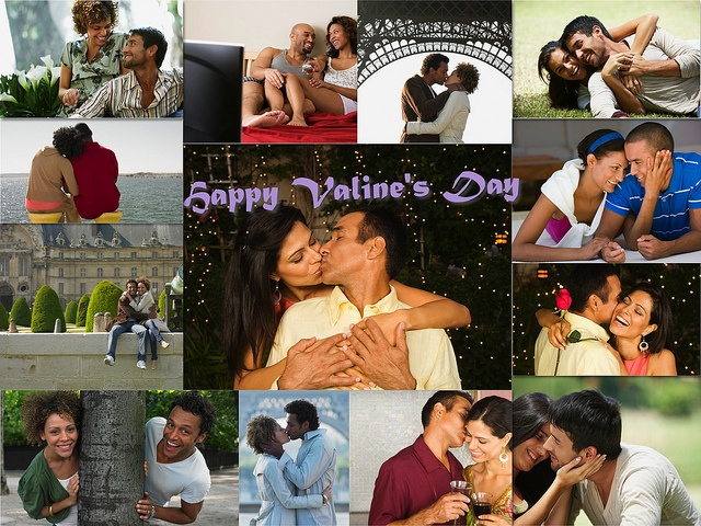 Happy Valentineu0027s Day   Collage For You! Love You More Than I Can Say.