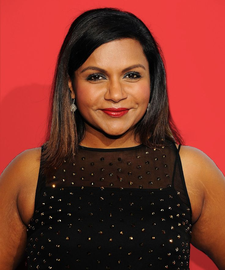 Mindy Kaling Best Brown Beauty Products | Mindy Kaling dishes on her favorite makeup products for women with dark skin. #refinery29 http://www.refinery29.com/2015/11/97939/mindy-kaling-best-brown-beauty-products