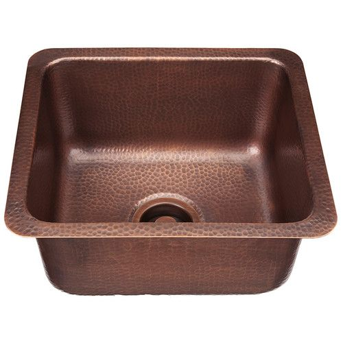 Features:  -Expertly crafted and finished by hand to make it uniquely yours.  -Crafted from the finest pure solid copper available.  -Incredible value, built to be the best quality sink at the best pr