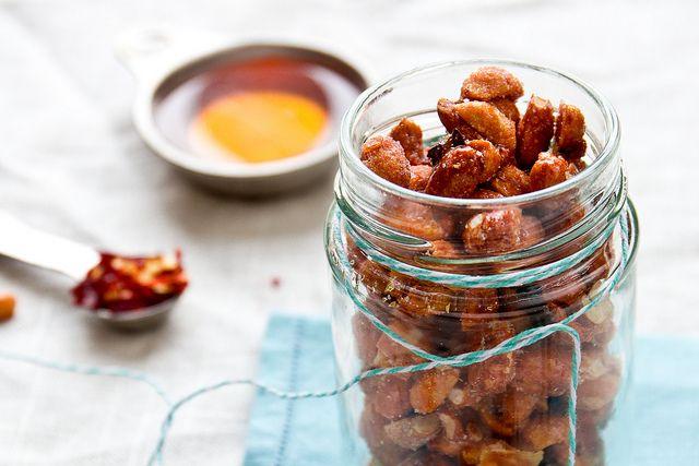 diy spicy honey roasted peanuts honey roasted peanuts roasted nuts ...