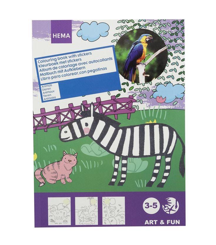 coloriage et stickers