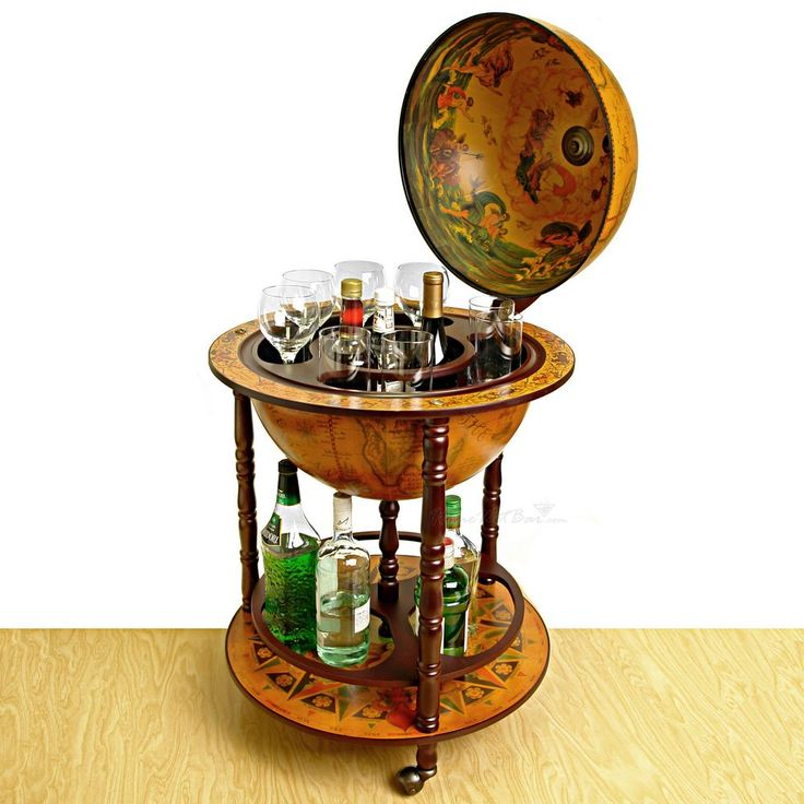 Globe Bar - and mine will be a functional globe as well. I'm looking for fashion AND function in my library/ den/ smoking room.