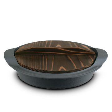 OIGEN/(上等焼き)筋目すきやきぎょうざ(木蓋付) 11550yen 便利な木蓋が付いたすき焼きぎょうざ兼用鍋