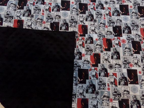 Sensory 7lbs Star Wars Weighted Blanket Deep by SoothingWeighted
