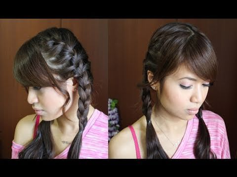 How to: French Braid Pigtails Hairstyle Hair Tutorial - YouTubeBraid Hairstyles, Braids, braids tutorial, braids for short hair, braids for short hair tutorial, braids for long hair, braids for long hair tutorials...