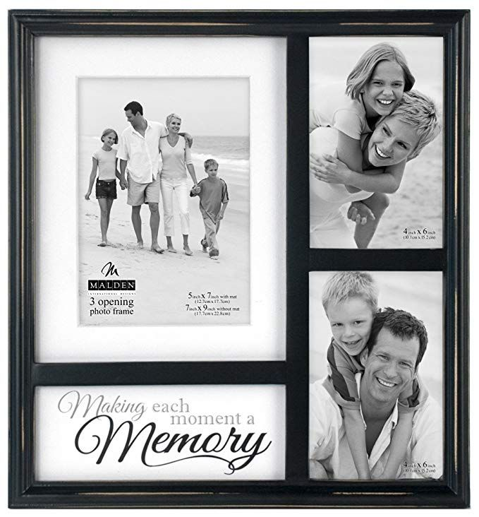 Malden International Designs Memory Mat Collage Picture Frame 3