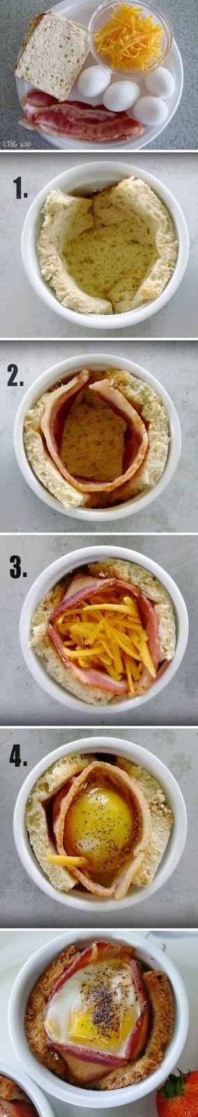 Simple Things: Receitinha prática para Breakfast