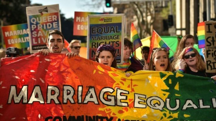 Same-sex marriage advocates launched legal action in Australia's highest court Tuesday against a controversial government plan for a postal vote on the issue calling it divisive and harmful