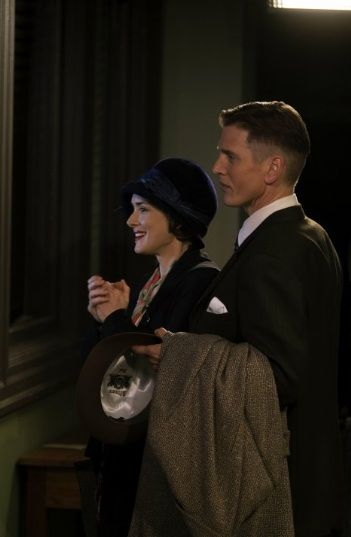 Barry Pepper as Bill Wilson and Winona Ryder as Lois Wilson, When Love Is Not Enough: The Lois Wilson Story (2010)