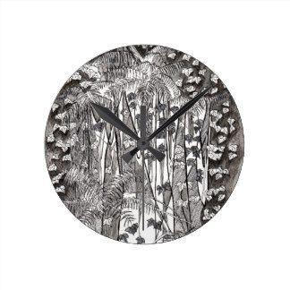 Forest Drawing Wall Clocks   Zazzle.co.nz