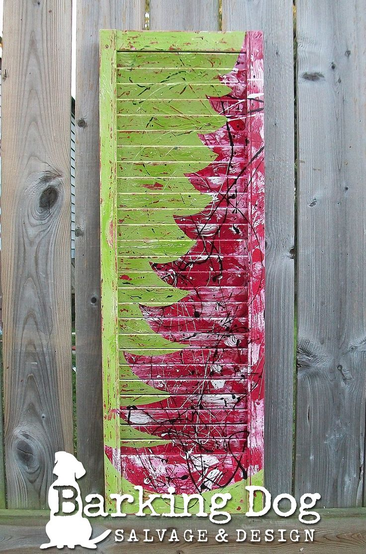 Holiday Shutters by Barking Dog Salvage & Design. Visit my page and thank you for supporting small businesses https://www.facebook.com/BarkingDogSalvageAndDesign