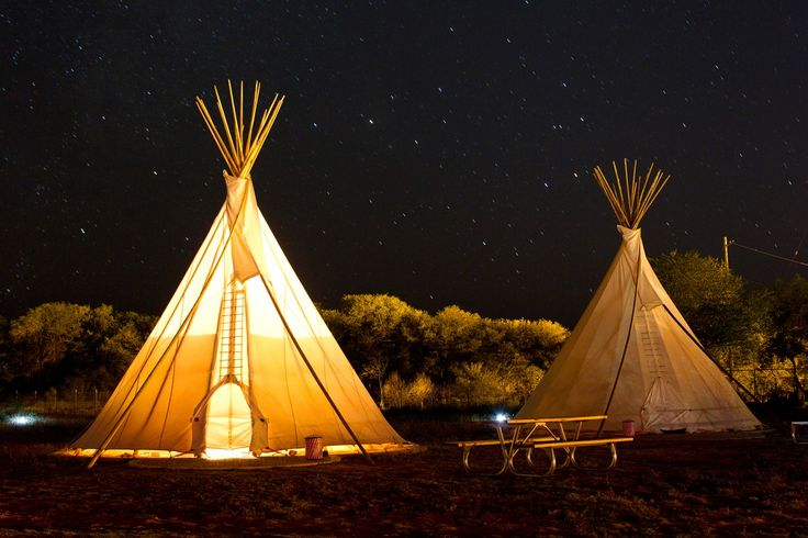 I'm going to have to stay in a teepee at El Cosmico when I visit Marfa. Only $80-85/night
