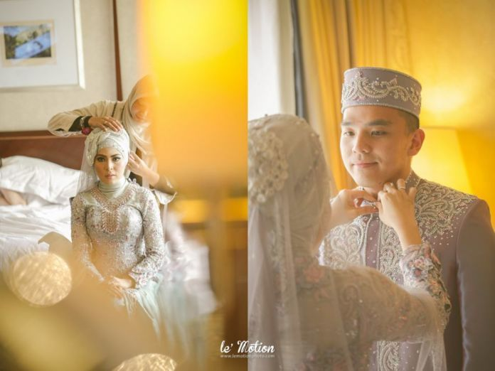 Hijab wedding ideas | The Wedding Day Of Asfra & Assad by Le Motion | http://www.bridestory.com/le-motion/projects/wedding-day-asfra-assad