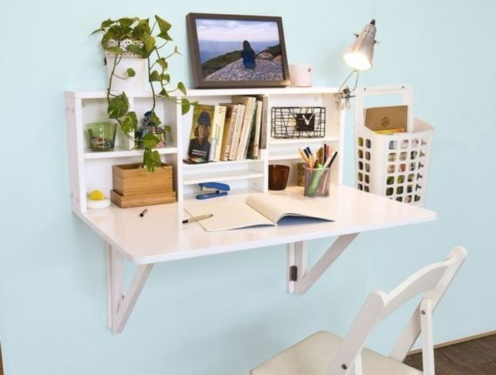 Best 25 bureaus ideas on pinterest bureau ikea ikea alex desk and modern office storage for Bureau mural