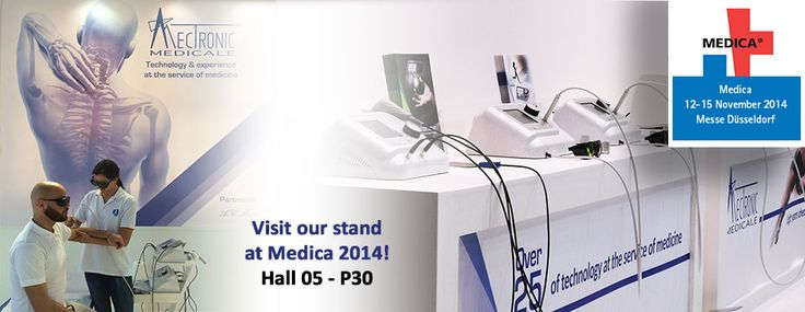 We at #MectronicMedicale are pleased to invite you  to visit our stand at Medica, World Forum for Medicine! Hall 05 – P30  12 – 15 November 2014– Dusseldorf – Germany