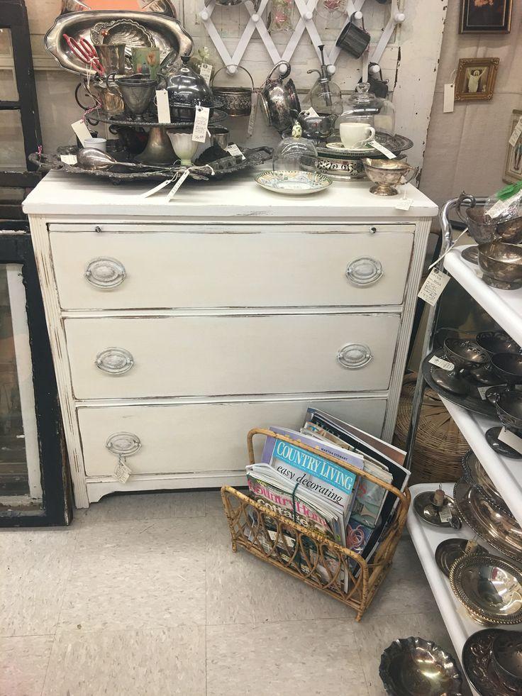 Cute white dresser for sale!