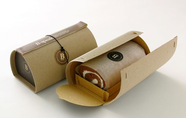 .Look closely at this simple cake wrapper #packaging PD