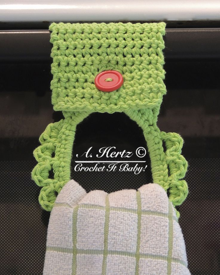 Ravelry: Towel Holder by Crochet It Baby...free pattern!
