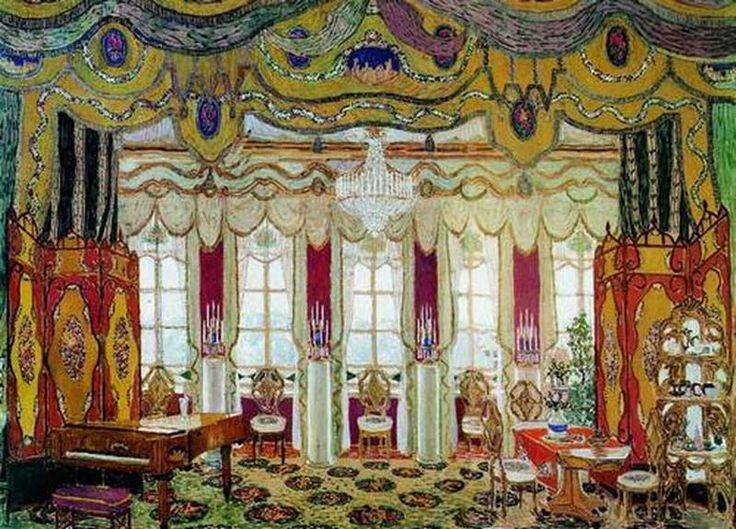 Картинки по запросу эскизы декораций
