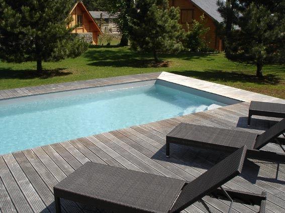 Les 25 meilleures id es de la cat gorie liner pour piscine - Piscine bois sans liner ...