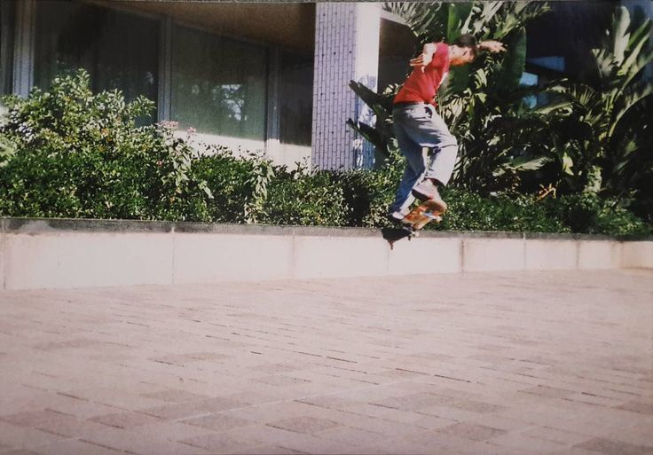 #throwbackthursday to a younger @deon_vdm's k-grind prowess c. 2003   #csskateshop x #tbt