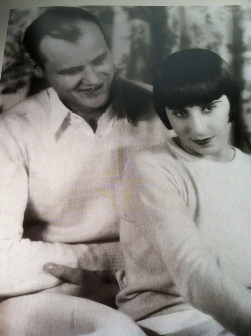 Hollywood costume designer Edith Head with husband Charles, 1923