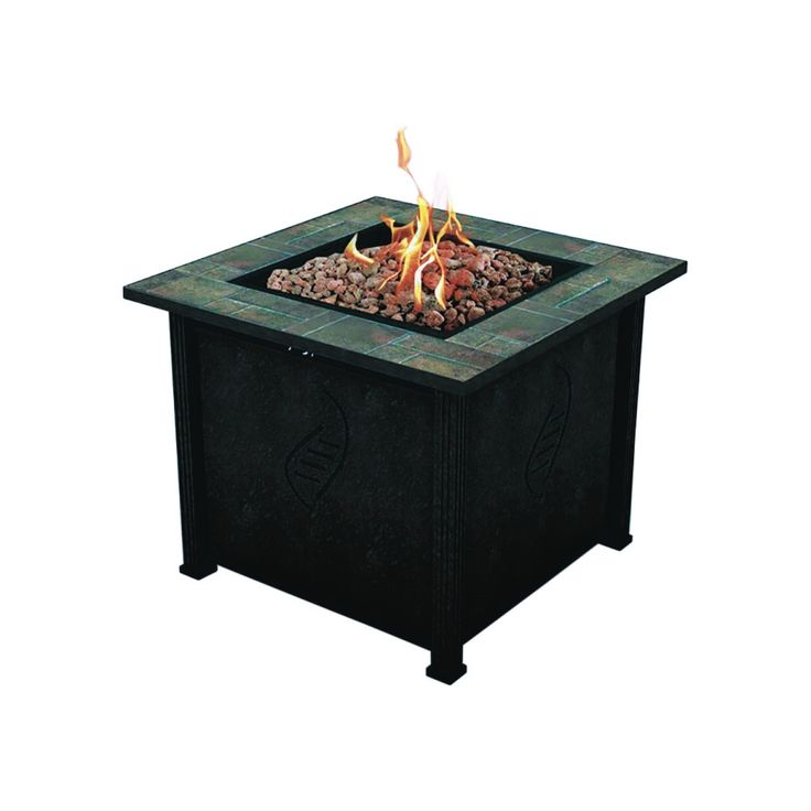Lari Gas Fire Table (68487A) - Outdoor Fireplaces - Ace ... on Ace Hardware Fire Pit id=72776