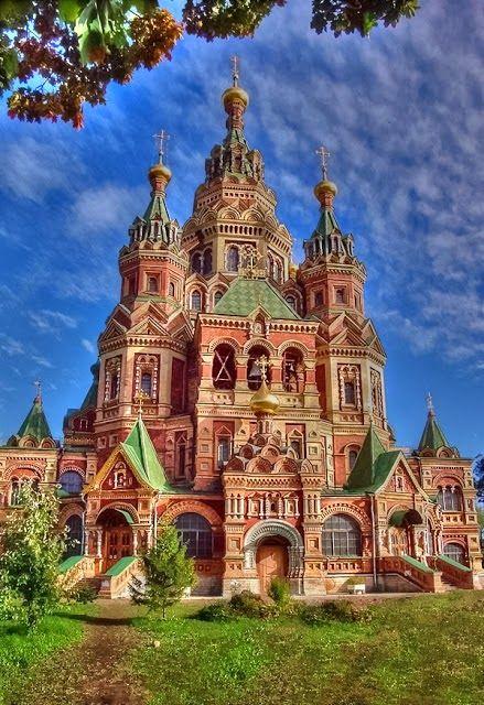 Peter and Paul Cathedral~ Peterhof~ Saint Petersburg, Russia