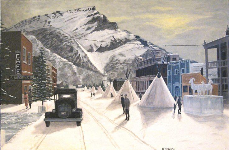 Banff Winter Carnival circa 1929. www.daverheaume.com