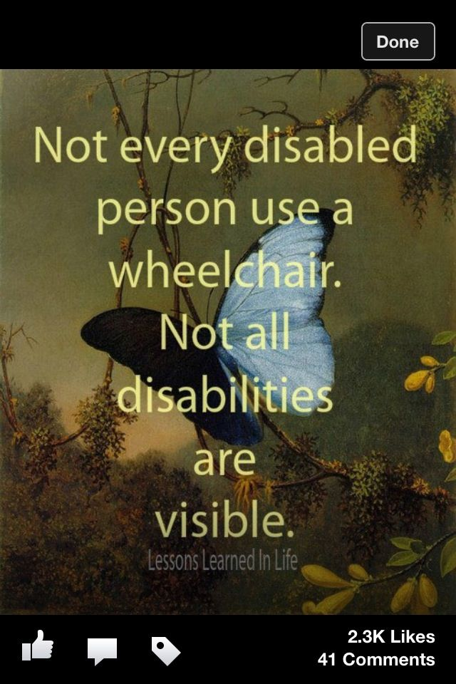 This best description for Chronic Pain. I'm staying out of the wheelchair as long as I can