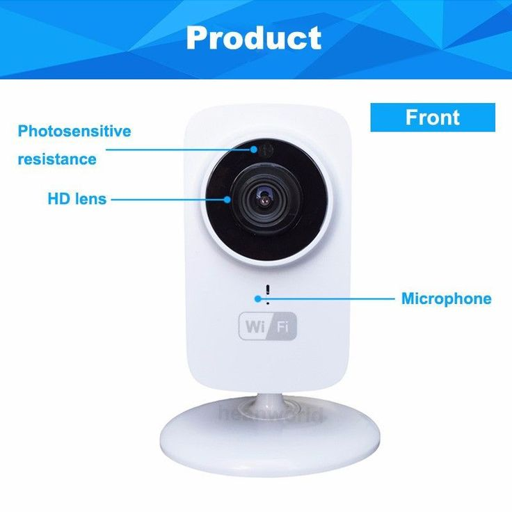HD Mini Wifi IP Baby Monitor Network - CCTV Security Camera Home Protection Mobile Remote Cam