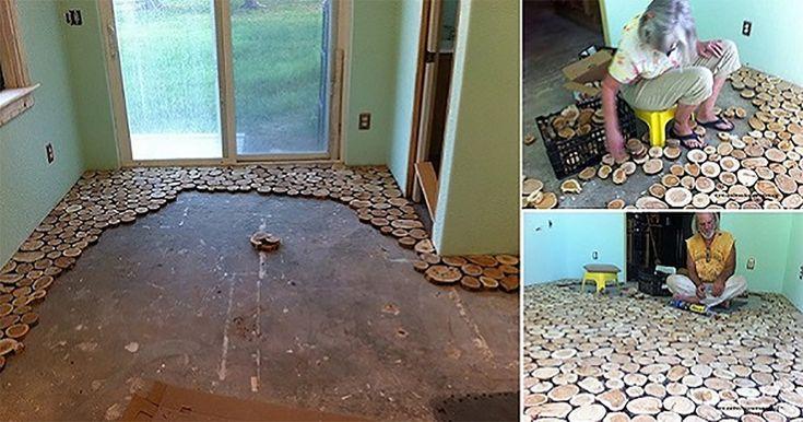 Nézd ezt a különleges padló dizájnt! Tökéletes egy hagyományos stílusú lakásba!