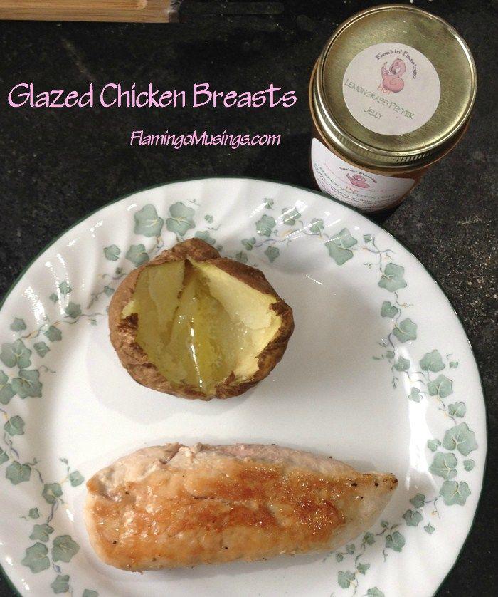 Glazed Chicken Breast | Flamingo Musings