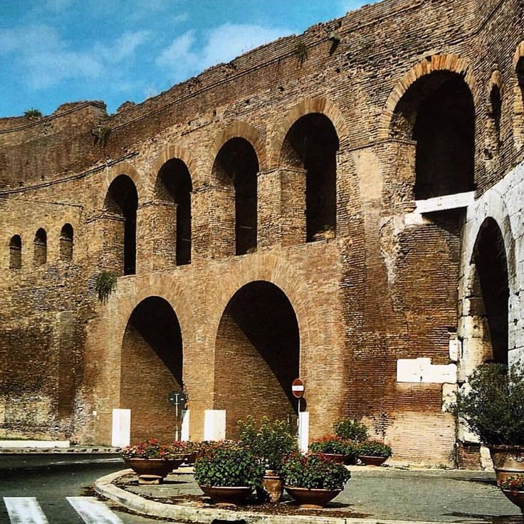 The Aurelian Walls are a line of city walls built between 271 AD and 275 AD in Rome, Italy, during the reign of the Roman Emperors Aurelian and Probus. They superseded the earlier Servian Wall built during the 4th century BC. Wikipedia