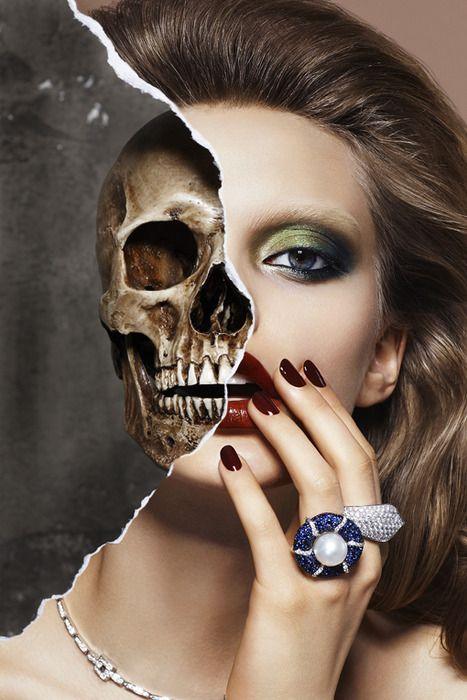 Fashion illustration/skeleton link