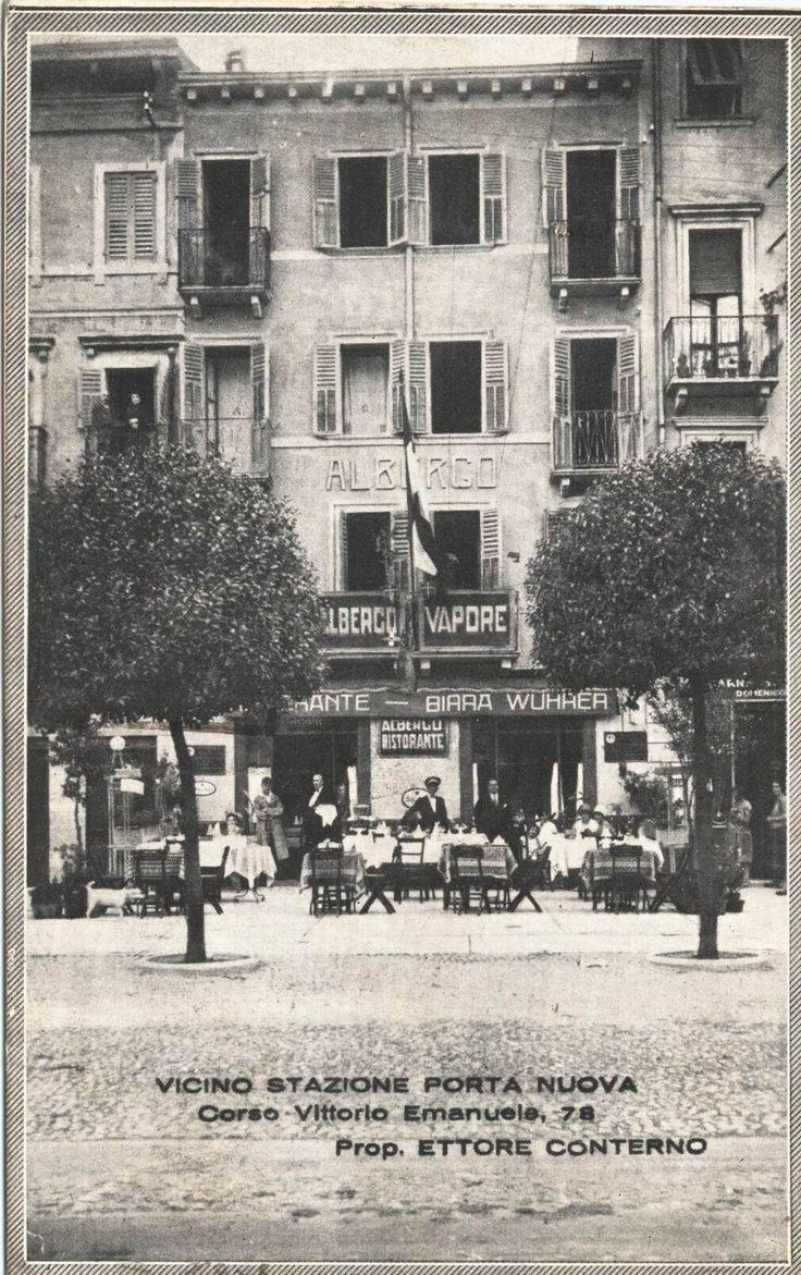 Verona - Corso Vittorio Emanuele - Albergo Vapore - 1932