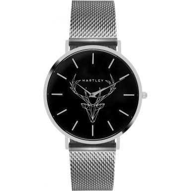 watches silver grande mesh eone products bradley