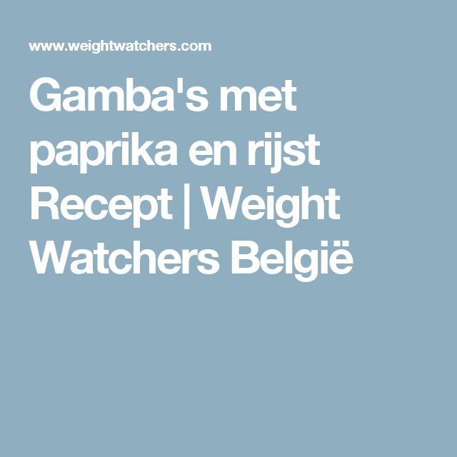 Gamba's met paprika en rijst Recept | Weight Watchers België