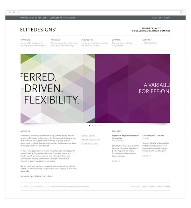 Guggenheim Partners - EliteDesigns - excites | Graphic Designer | Simon C Page