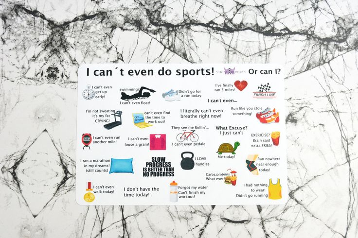 I Can't do sports list / Didn't do it list / F it list by VikingDesigns1 on Etsy