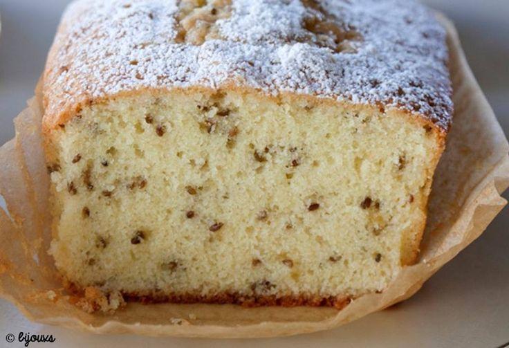 Bien envie d'essayer ce cake à l'anis, pas vous ? :) => http://ow.ly/Qavx30ane4x