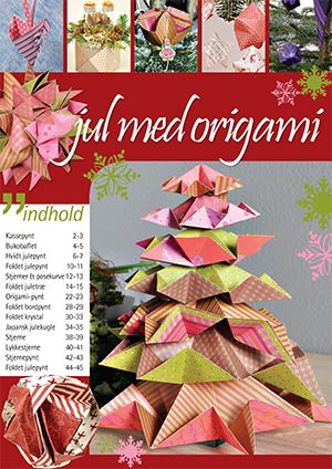 Gratis Tema Magasiner Origami for Christmas