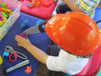 play dough is under construction - - Pinned by #PediaStaff.  Visit http://ht.ly/63sNt for all our pediatric therapy pins