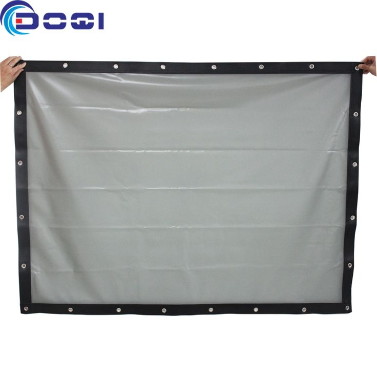 663.10$  Watch now - http://alibzf.worldwells.pw/go.php?t=32706044613 - 3*8 meters Potable Rear Projection Screen Fabric PVC Soft Curtain with Eyelet Large Size Factory Sale 663.10$