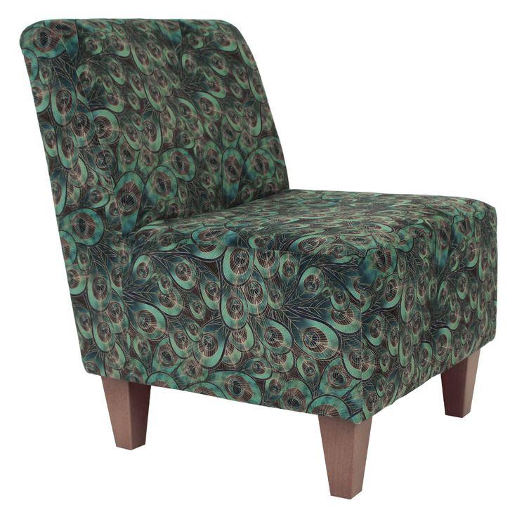 Fox hill penelope armless slipper chair multiple colors